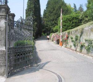 cancelli ad ante battenti Aprimatic Firenze zona Campo di Marte